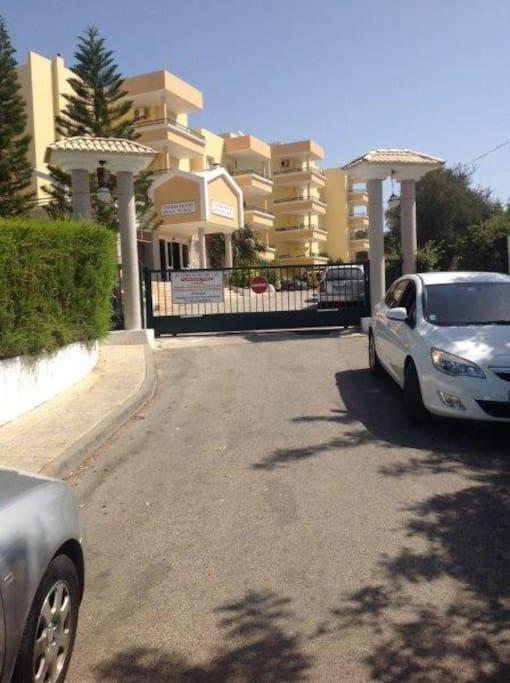 une place de parking