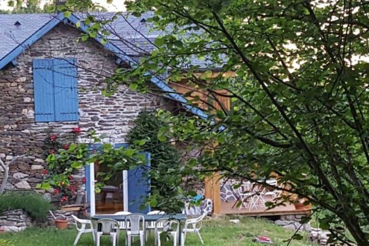 """Grange  de charme en montagne - Grange """"SEFAMI"""" - Uz - Casa"""