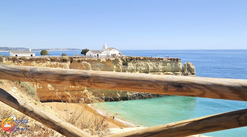Senhora da Rocha Chapel and Nova Beach - Welcome to Porches, Algarve!