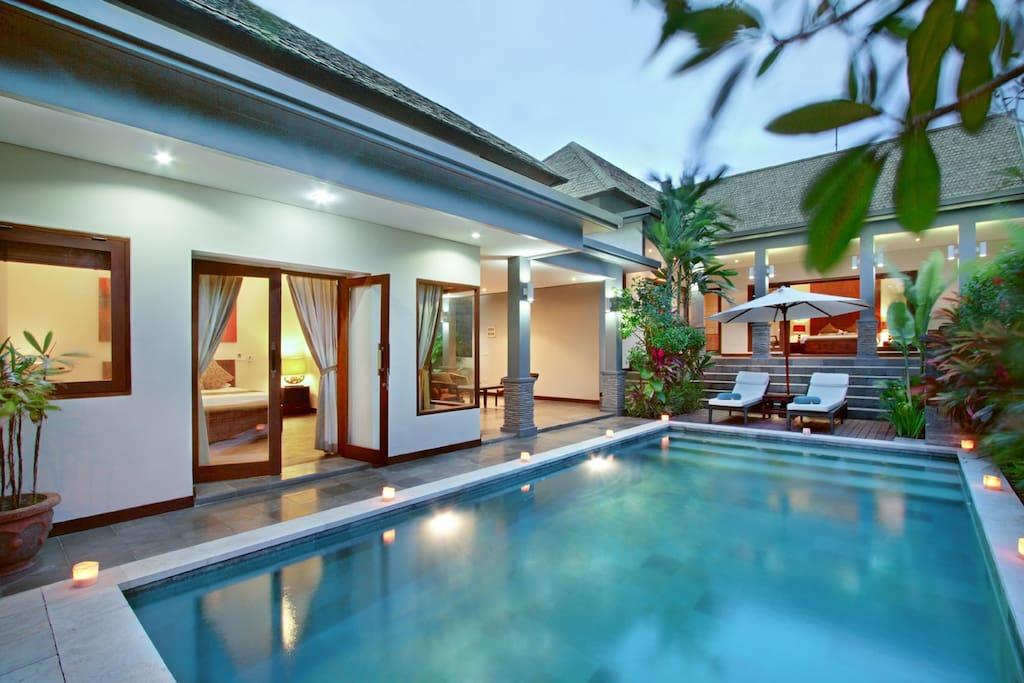Villa Senang - 1 Bedroom Villa in Canggu