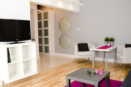 NICE APARTMENT IN THE HEART OF WARSAW DOWNTOWN - Warschau - Wohnung