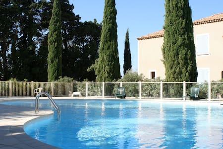 PROMO Gîte en Provence 6 pers. piscine - Sainte-Cécile-les-Vignes - Rumah