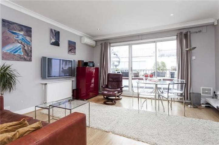 Central spacious terrace flat - London - Apartment
