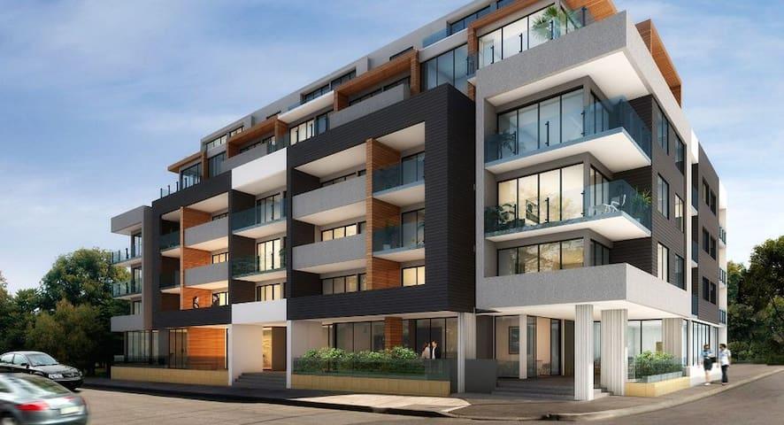 City views, large balcony, bbq - Brunswick - Apartment