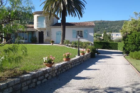 beautifull and large villa quiet - Vence