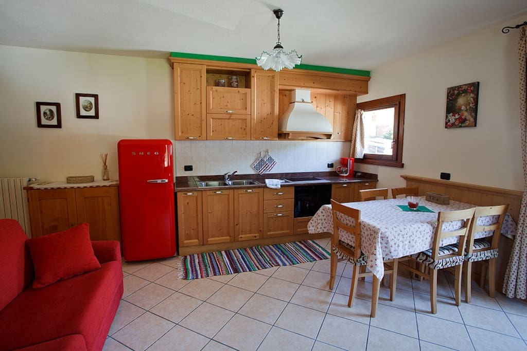 Cucina Soggiorno (appartamento Le Presure)
