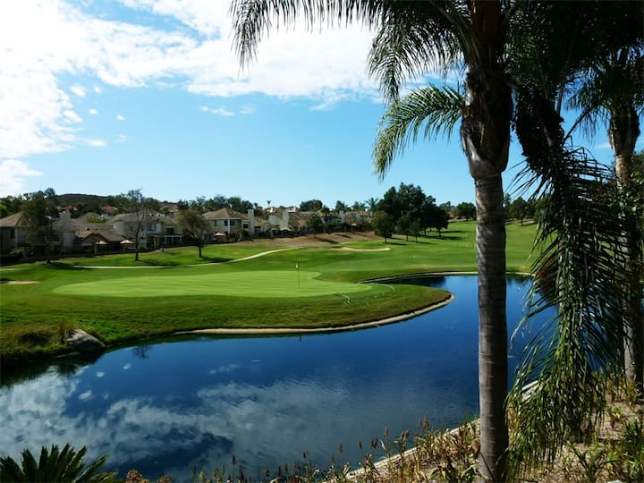 Fantastic Panoramic View of Private Golf Course