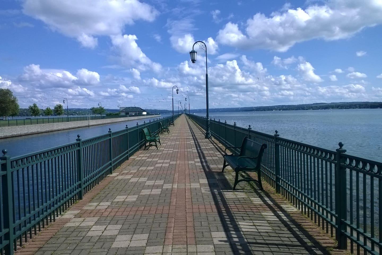 Owasco Lake pier