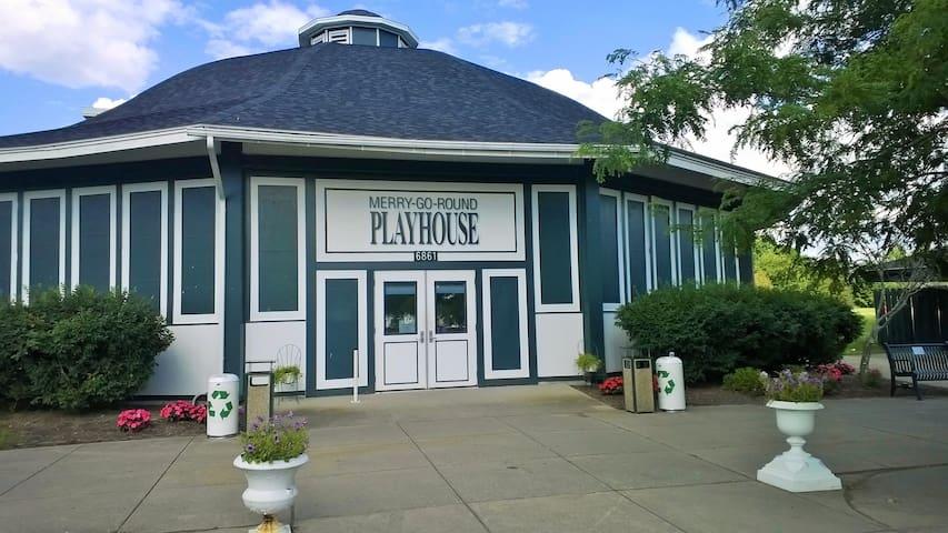 Merry-Go-Round playhouse