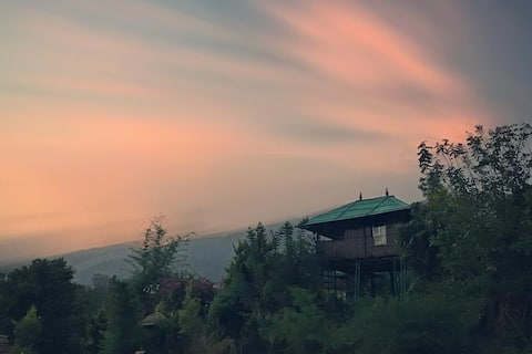 Stay in Cozy bamboo cottage & Huts
