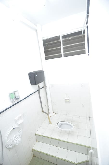 Ground floor toilet and bathroom