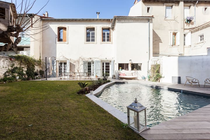 Incredible Villa with pool downtown - Montpellier - Dům