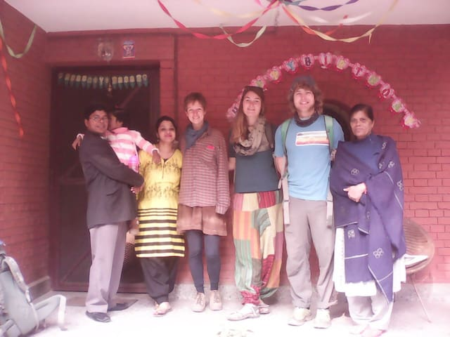 Homely environment in Kathmandu - Катманду - Дом