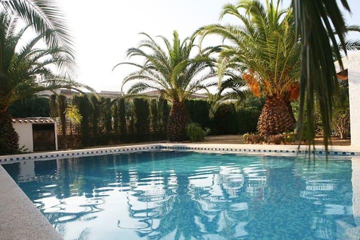 Finca mit Pool und Traum Meerblick - Cautivador - Haus