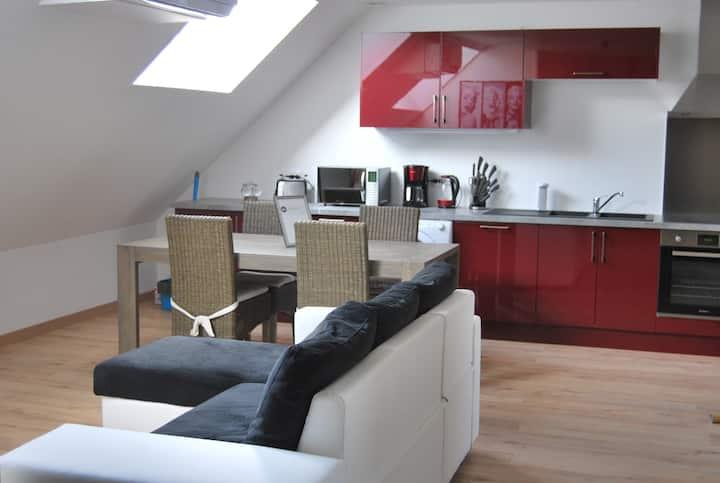 Appartement Sous les étoiles à GIVET, Ardennes