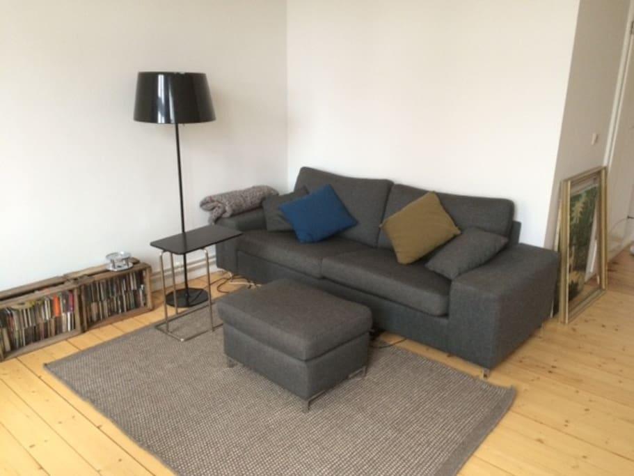 living room (no bed sofa)