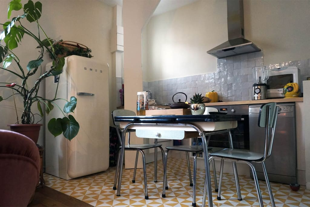 Fifties styled kitchen!