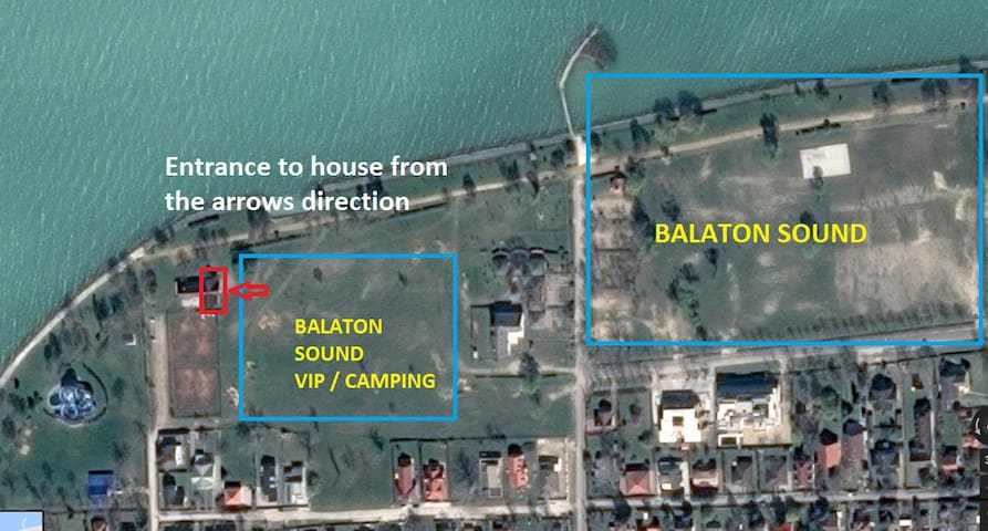 8 persons Last minute Balaton Sound accomodation!