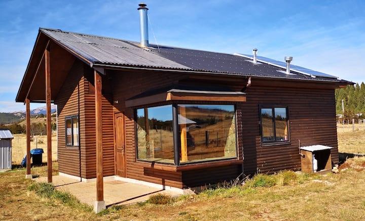 La cabaña de tus sueños en la Patagonia Chilena