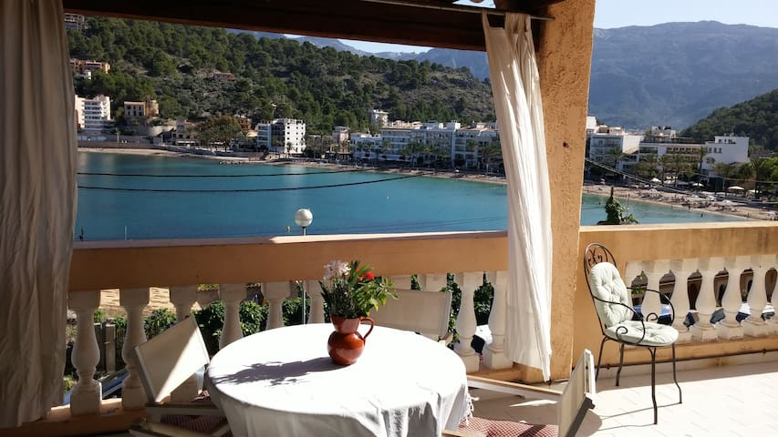 front line apartment next to beach - Port de Sóller - Apartament