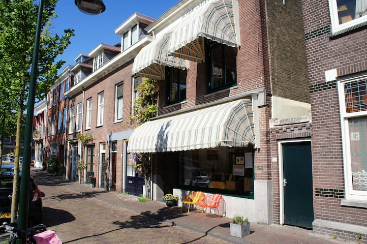 Apartment in the middle of the old centre in Delft