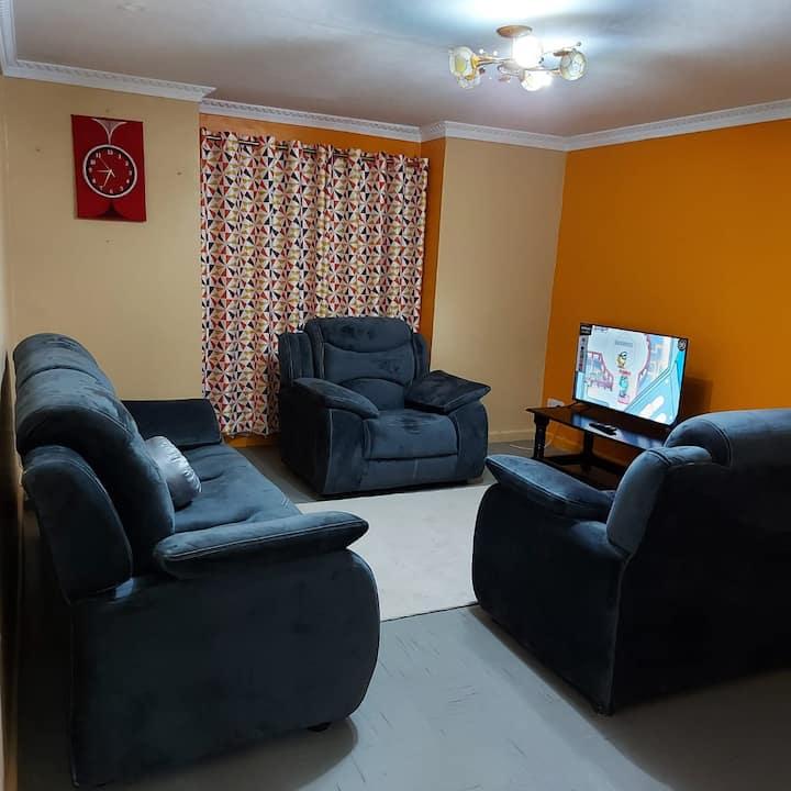 Spacious 3 bedroom apartment close to JKIA
