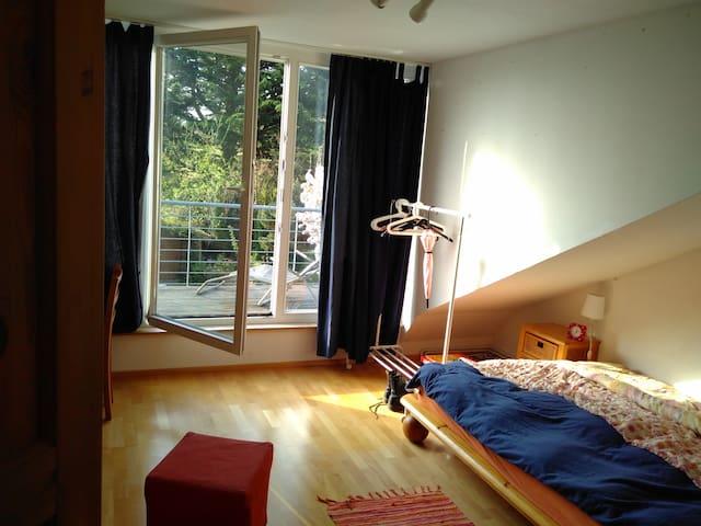 Zimmer mit Blick über Bonn - Alfter - House