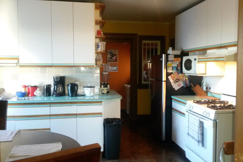wish to save and eating out this fully appointed kitchen is ready for your culinary needs