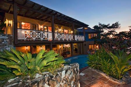 Ocean front villa w/ private pool. - Politilly Bight - Villa