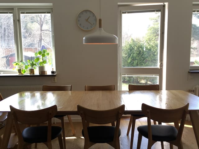 Flat/row-house in Stockholm with garden - Lidingö - Квартира