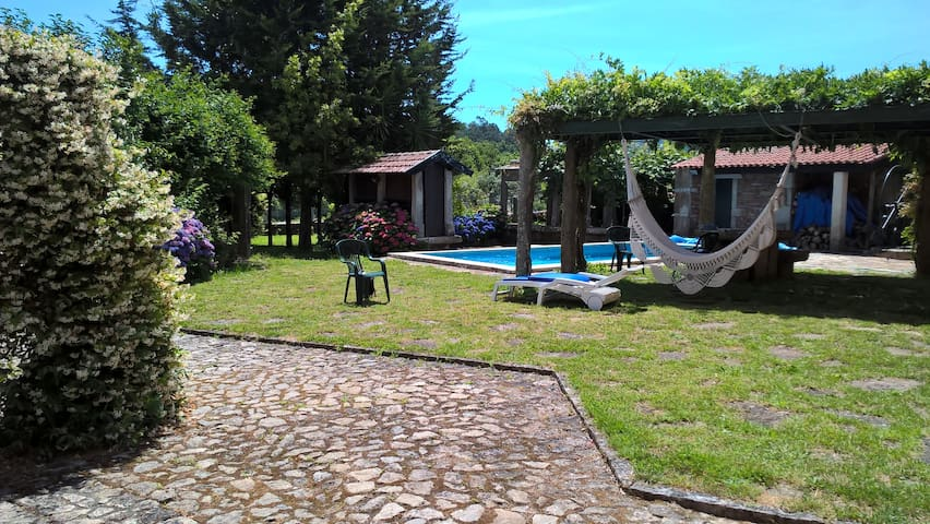 Magnifica Casa  Propriedade Rural Próximo  Praia - Venade