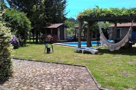 Magnifica Casa  Propriedade Rural Próximo  Praia - Venade - Huis
