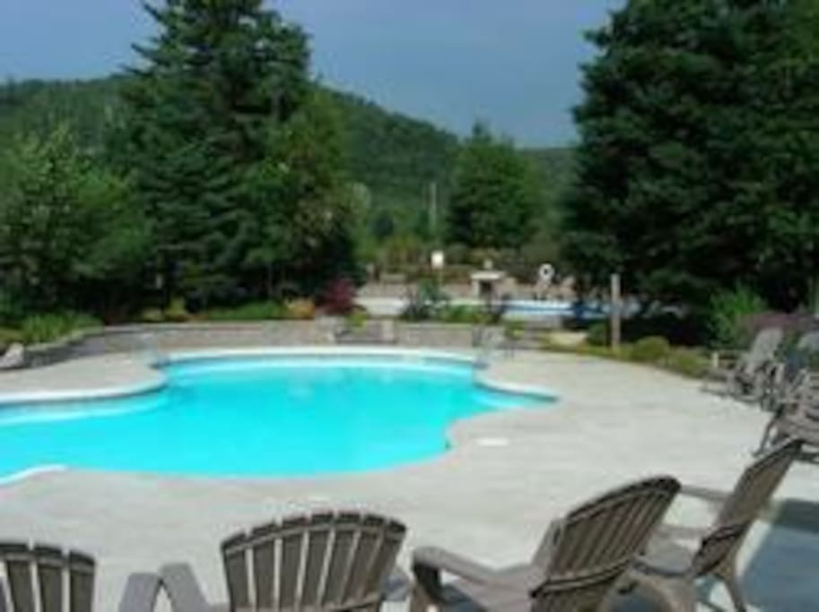 2 Outdoor Heated Pools in the summer