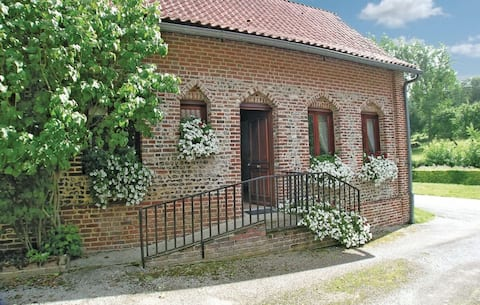 Cottage in a traditional rural French village