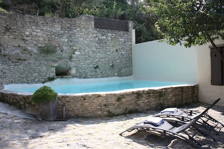 Modern self-catering rental with po - Fontaine-de-Vaucluse - Loft
