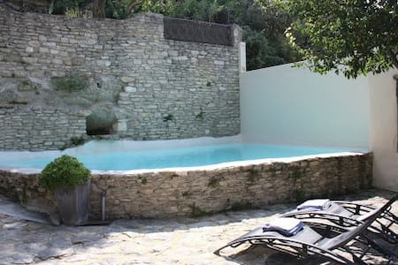 Modern self-catering rental with po - Fontaine-de-Vaucluse