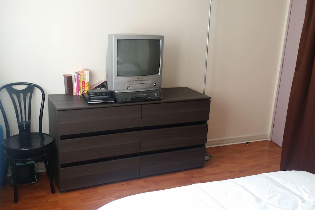 TV et lecteur de DVD