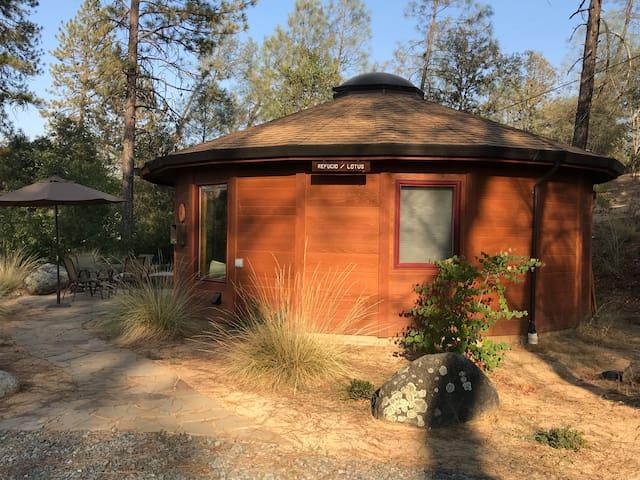 Sophisticated yurt