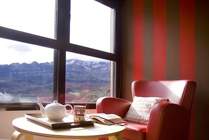 Acogedor apartamento con vistas - Panticosa - Apartemen