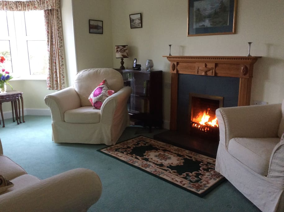 This is the sitting room area
