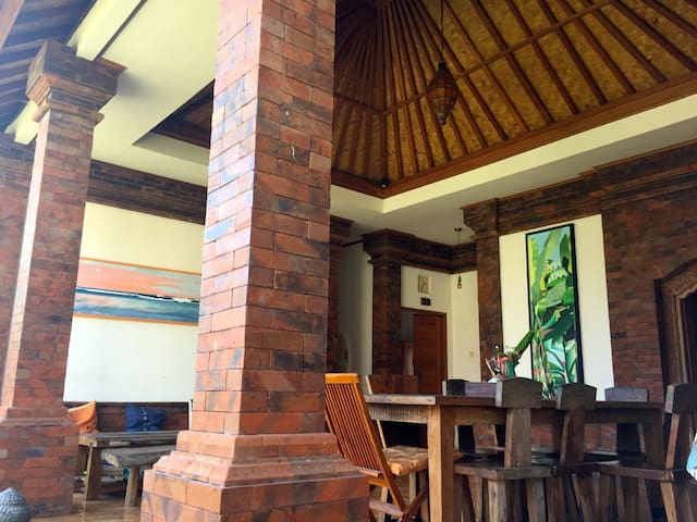 Stone`s Home Stay big Terrace (patio) tropical stayle