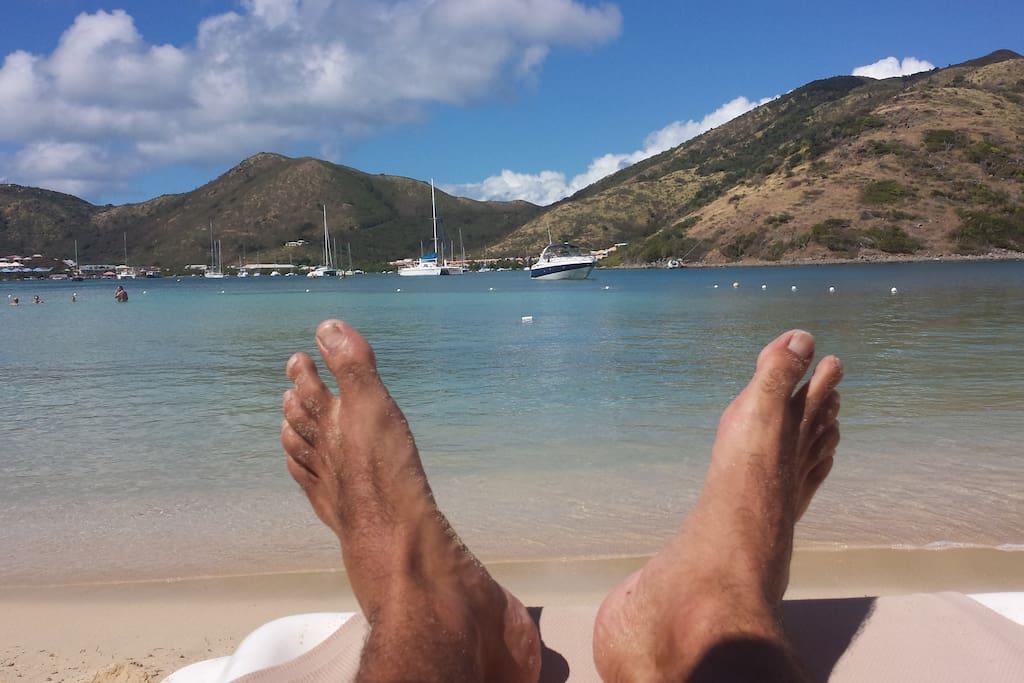 Les Antilles, comme je les imaginais, avec elle !