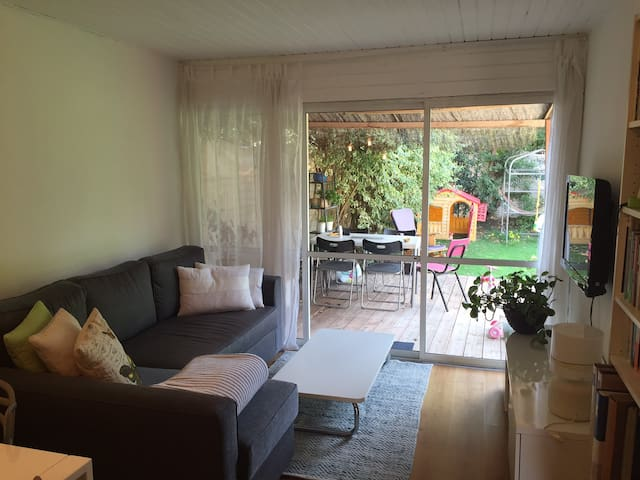 2 BR house with beautiful garden