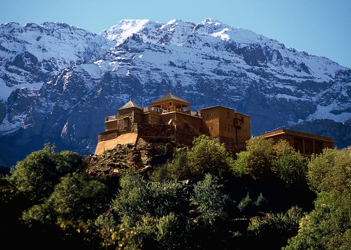 Berber salons at  Kasbah Du Toubkal