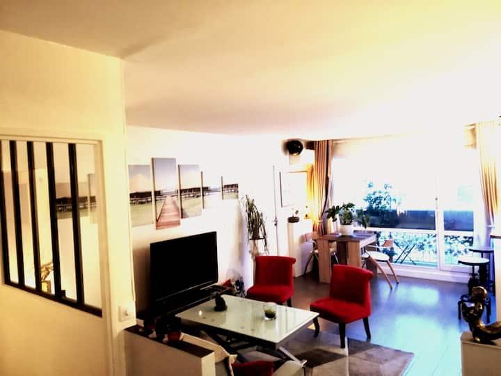 Superbe appartement avec vue sur Paris