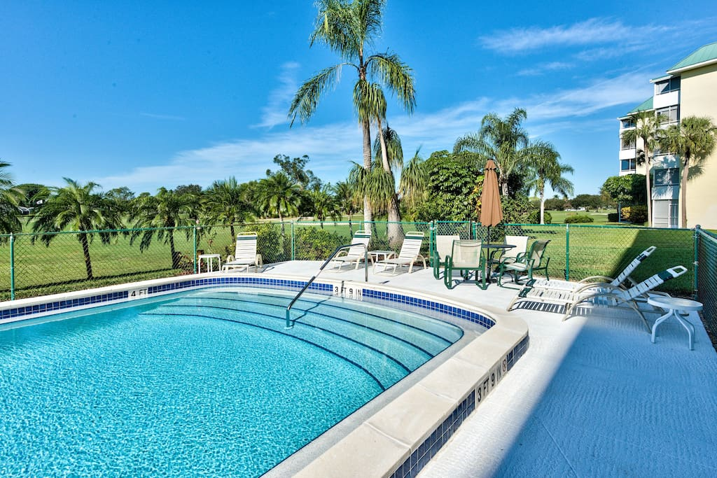 Located on Hibiscus Golf Course, Terrific Views - Capri Golf Condo - Naples Florida Vacation Homes