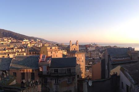 Charmante chambre très spacieuse - Bastia