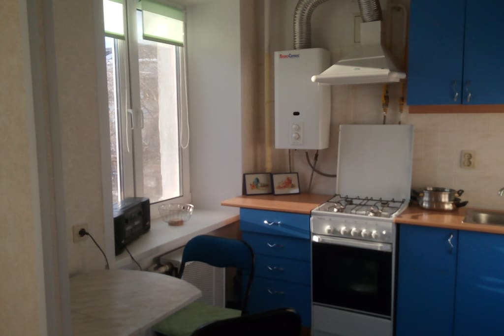 Kitchen. Кухня.