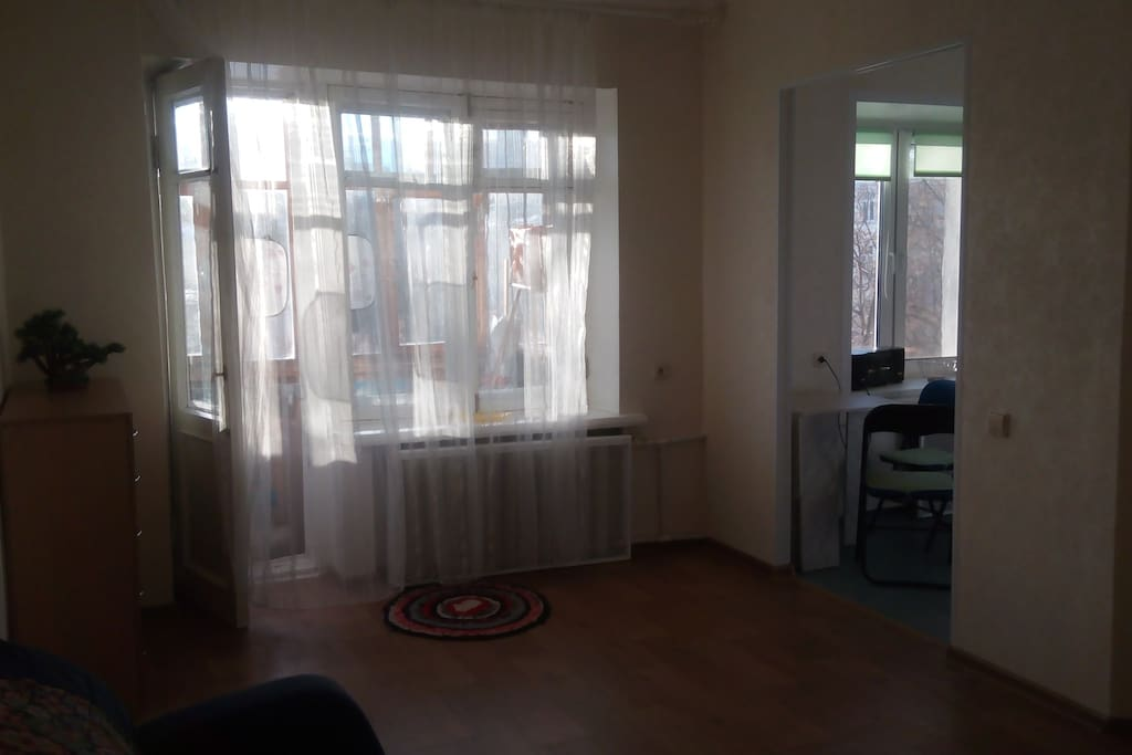 Living room. Зал.