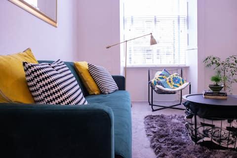 Stijlvol appartement in de buurt van universiteit in Marchmont